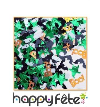 Petit sachet de confettis Halloween