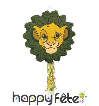 Pinata Simba Le Roi Lion à ficelle de 53 cm