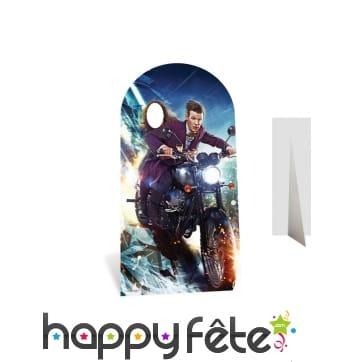 Passe tête clara en moto, Doctor who