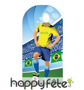Passe tête équipe du Brésil