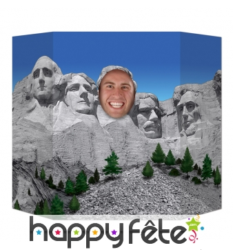 Passe tête Mont Rushmore