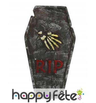 Pierre tombale RIP décorative de 63cm