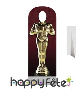 Passe-tête statue des Oscars