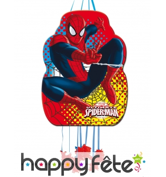 Pinata ultimate Spiderman à franges
