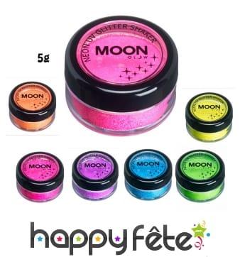 Poudre UV scintillante Moonglow, 5g