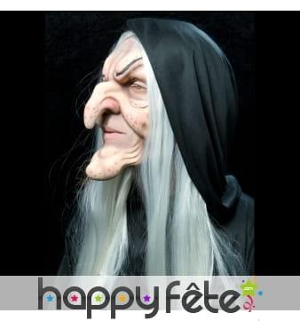 Prothèse visage de sorcière
