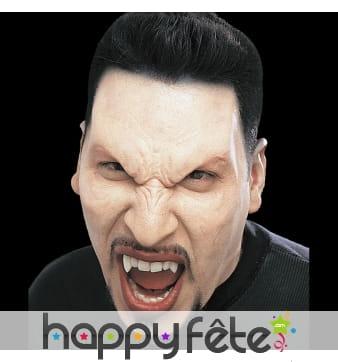 Prothèse visage de vampire en mousse