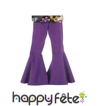 Pantalon violet patte def