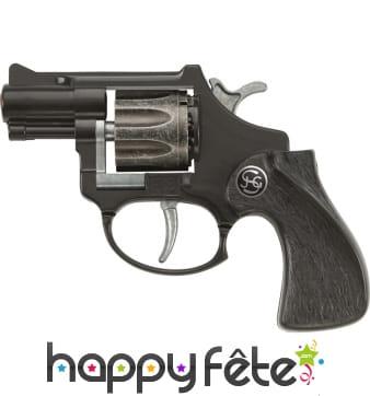 Revolver 8 coups canon court
