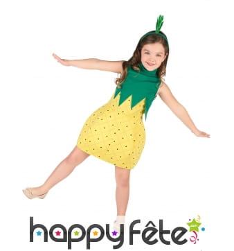 Robe ananas pour enfant