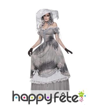 Robe costume de grande dame fantôme