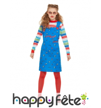 Robe Chucky pour enfant