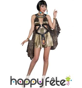 Robe courte Reine d'Egypte premium