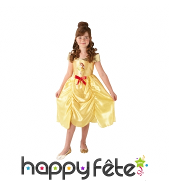 Robe de Belle avec imprimé pour petite fille