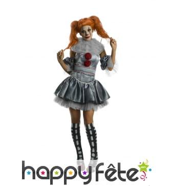 Robe du clown CA pour adulte