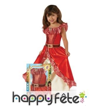 Robe de Elena D'avalor pour enfant