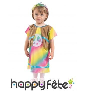 Robe de hippie pour bébé