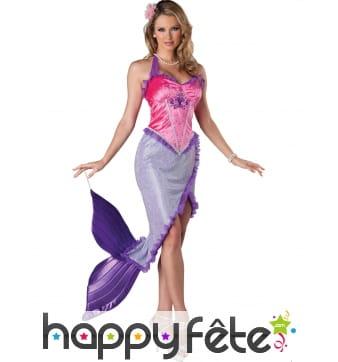 Robe de jolie sirène pour femme