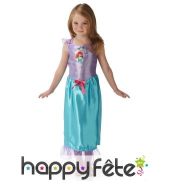 Robe de la princesse Ariel pour enfant