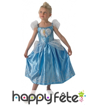 Robe de la princesse Cendrillon pour enfant
