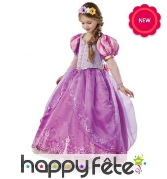 Robe de la Princesse Raiponce enfant, Collector