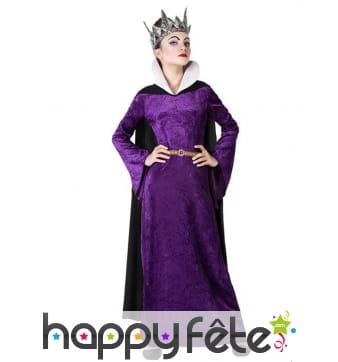 Robe de méchante reine pour enfant