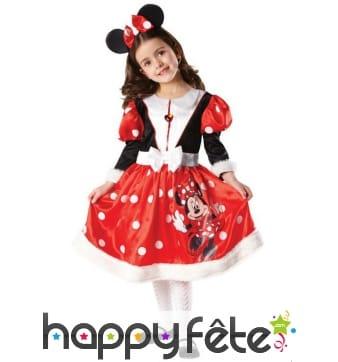 Robe de Minnie de Noël pour enfant