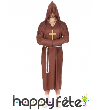 Robe de moine grande taille pour homme