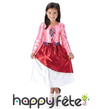 Robe de Mulan pour enfant, Disney