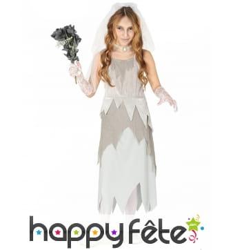 Robe de petite mariée fantôme grise