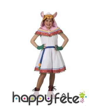 Robe de petite péruvienne