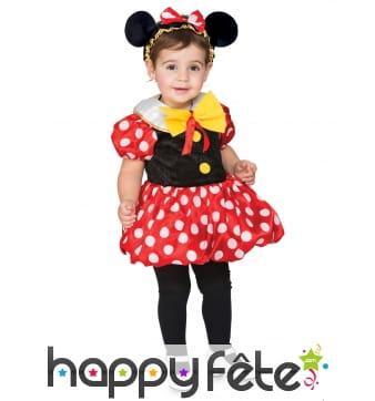 Robe de petite souris pour enfant avec oreilles