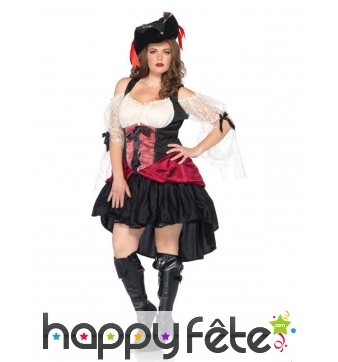 Robe de pirate queue de pie grande taille