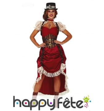 Robe de pirate steampunk pour femme