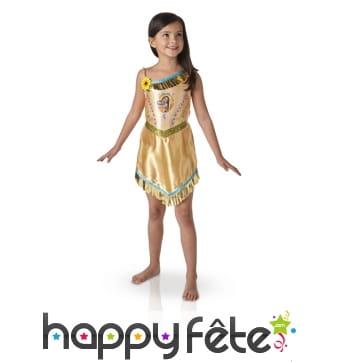 Robe de pocahontas pour enfant