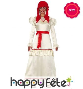 Robe de poupée pour femme
