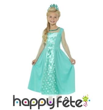 Robe de princesse des glaces pour enfant