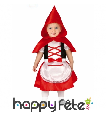 Robe du Petit chaperon rouge pour bébé