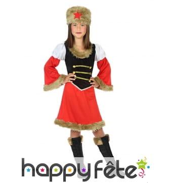 Robe de soldat russe pour enfant