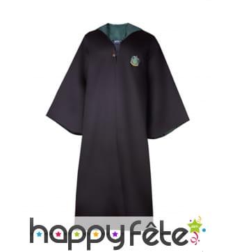 Robe de sorcier Serpentard, réplique Harry Potter