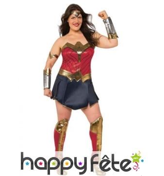 Robe de Wonder Woman grande taille pour femme