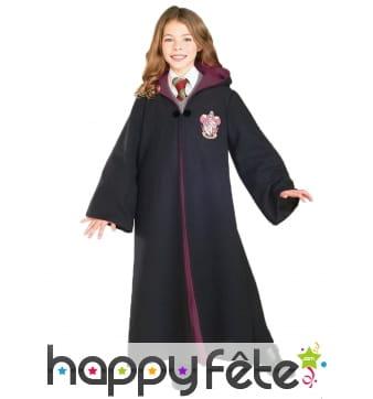 Robe Gryffondor luxe pour enfant, Harry Potter