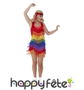 Robe Gay Pride flapper