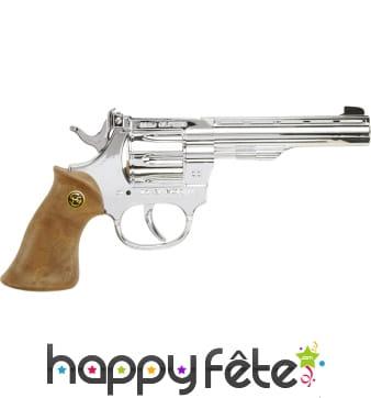 Revolver kadett argenté