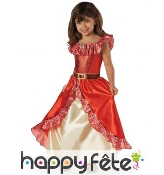 Robe luxe de Elena d'Avalor pour enfant