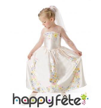 Robe mariage de Cendrillon pour enfant