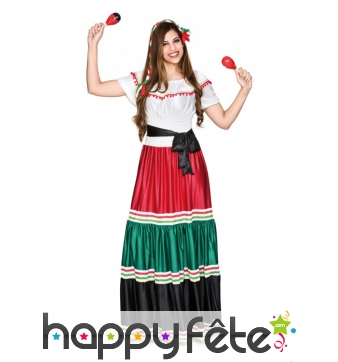 Robe Mexicaine traditionnelle pour femme