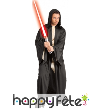 Robe noire de Sith pour adulte, Star-Wars
