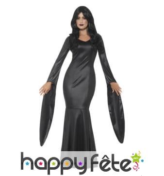 Robe noire de vampire immortelle