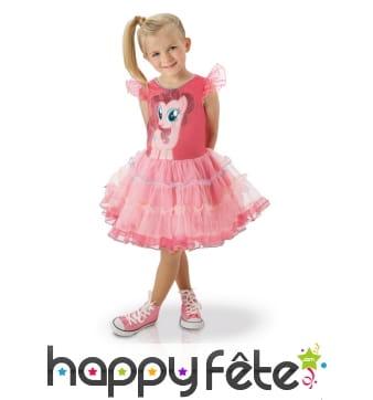 Robe Pinkie Pie pour enfant, mon petit poney
